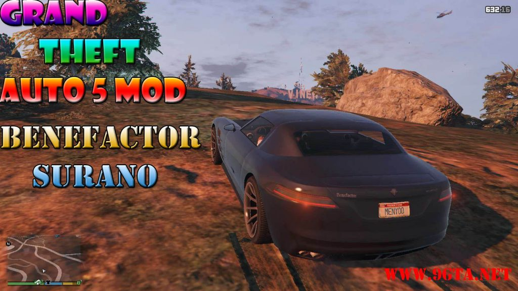 Benefactor Surano Mod For GTA5