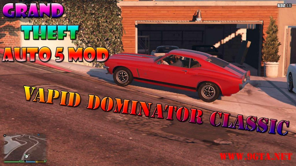 Vapid Dominator Classic Mod For GTA5