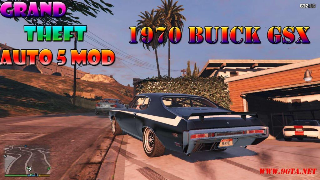 1970 Buick GSX Mod For GTA5