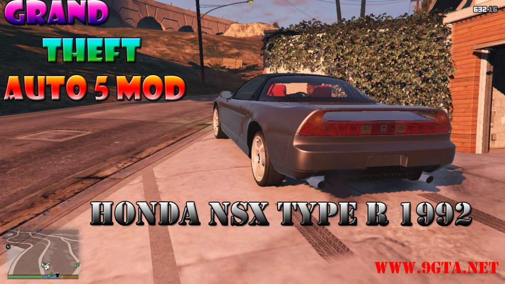 1992 Honda NSX TypeR Mod For GTA5