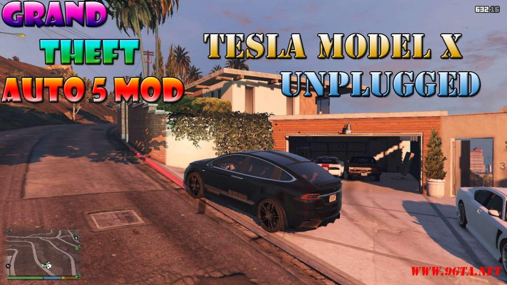 Tesla Model X Unplugged Performance Mod For GTA5