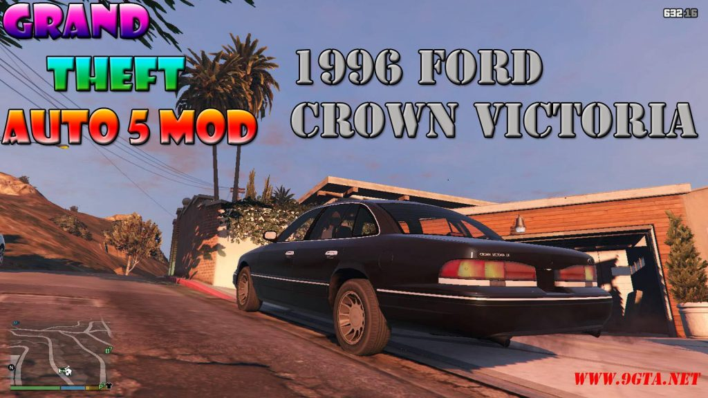 1996 Ford Crown Victoria Mod For GTA5