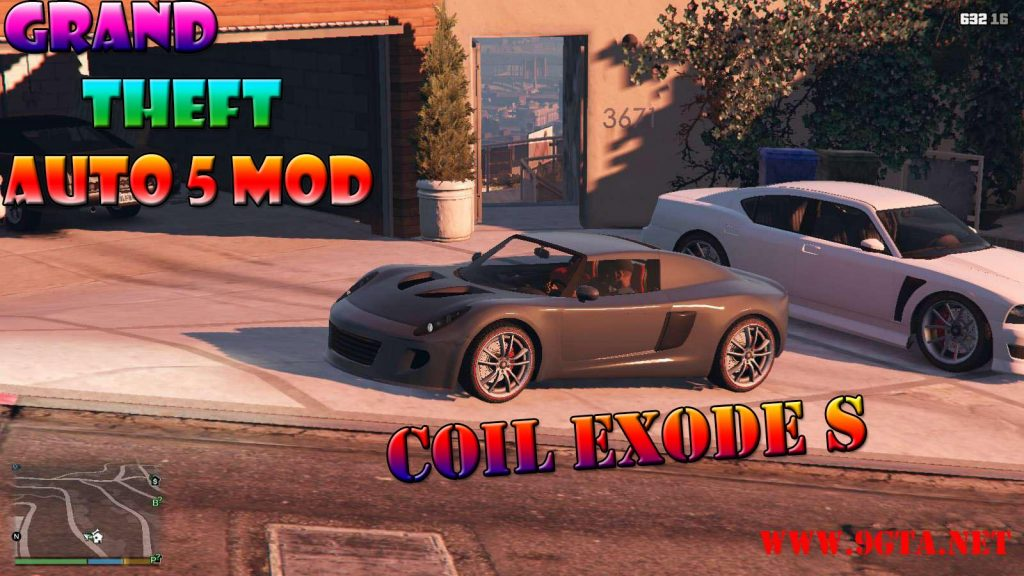 Coil Exode S Mod For GTA5