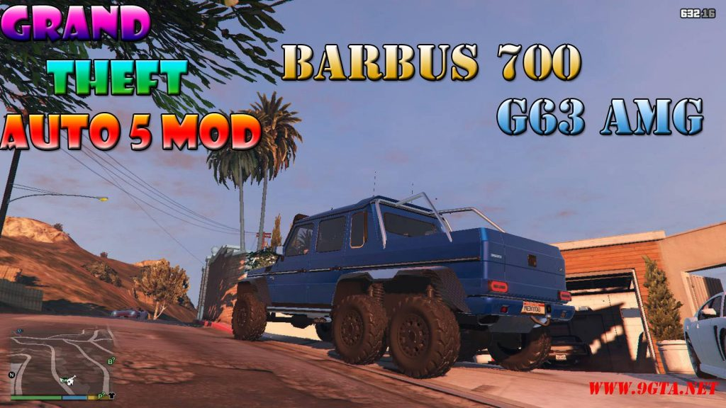Barbus 700 G63 AMG Mod For GTA5