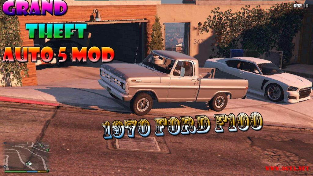 1970 Ford F100 Mod For GTA5