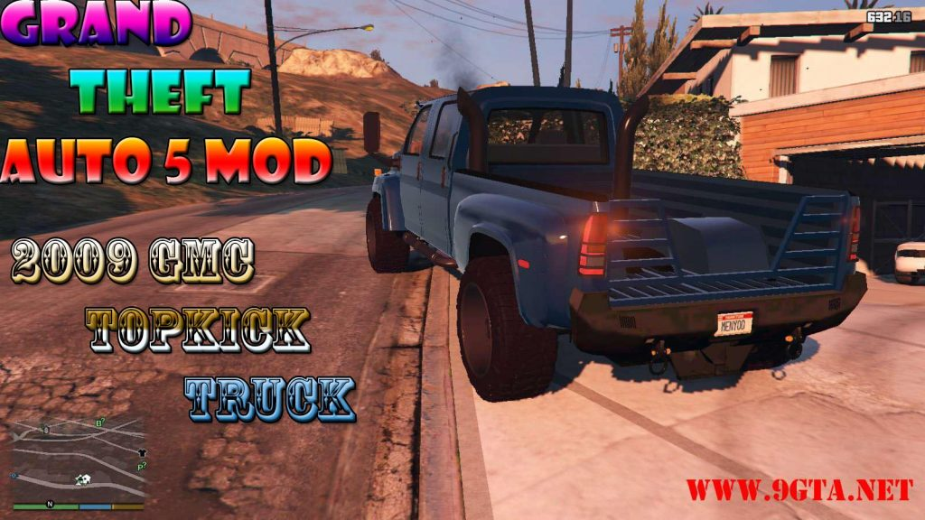2009 GMC Topkick Truck Mod For GTA5