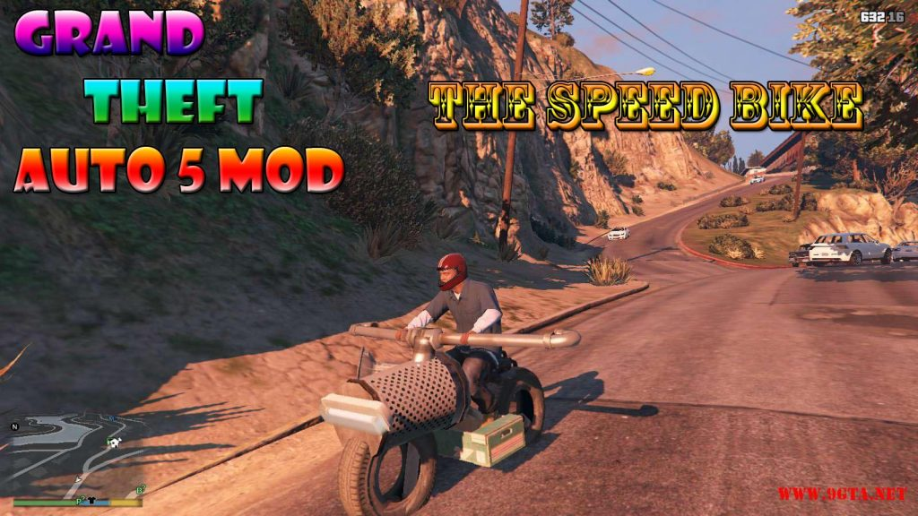 The Speed Custom Bike Mod For GTA5