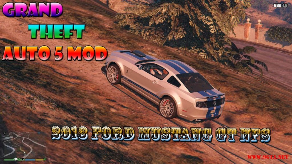 2013 Ford Mustang GT NFS Mod For GTA5