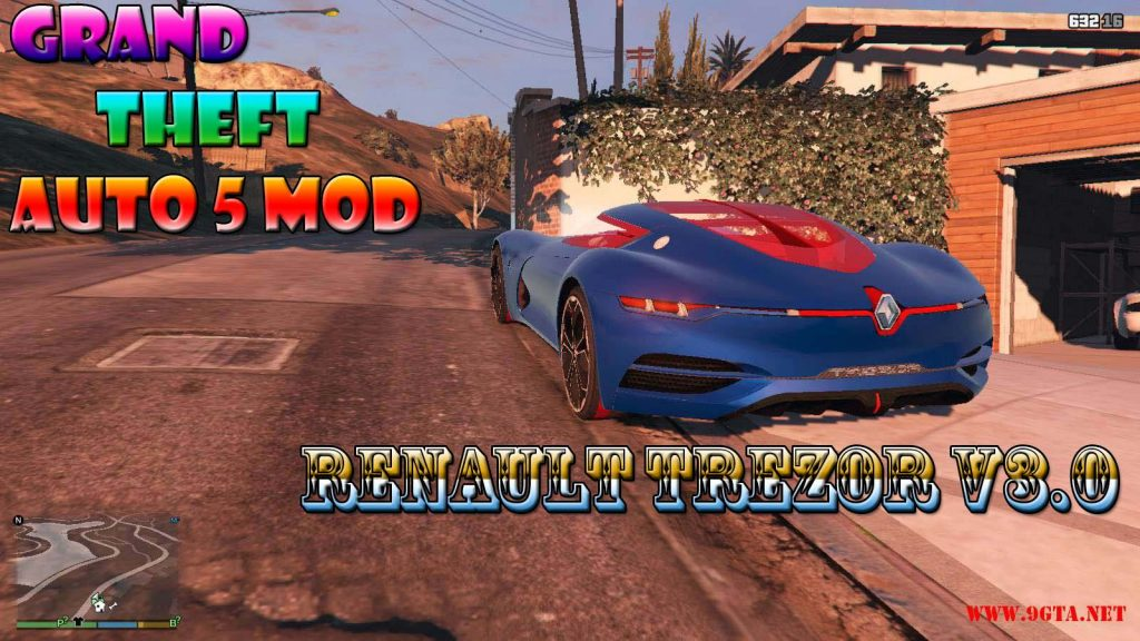 Renault Trezor v3.0 Mod For GTA5