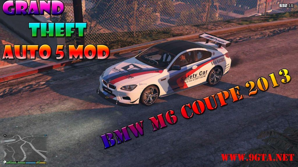 2013 BMW M6 Coupe v2.0 Mod For GTA5