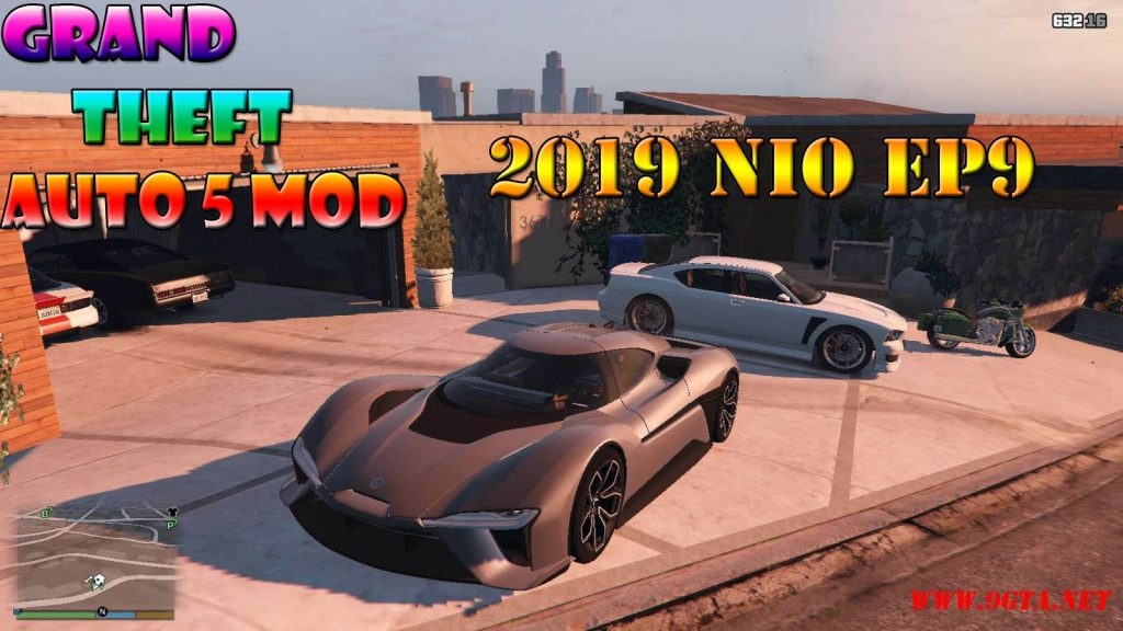 2019 NIO EP9 Mod For GTA5