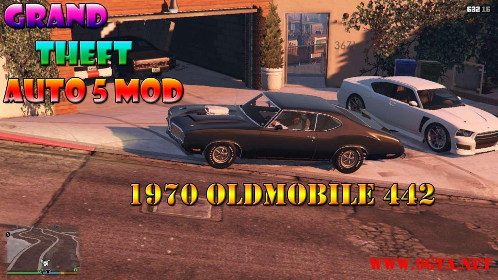 1970 Oldsmobile 442 Mod For GTA5