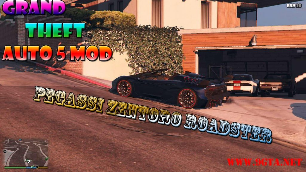 Pegassi Zentorno Roadster Mod For GTA5