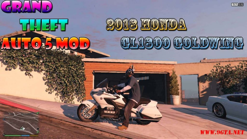 2018 Honda GL1800 Goldwing Mod For GTA5