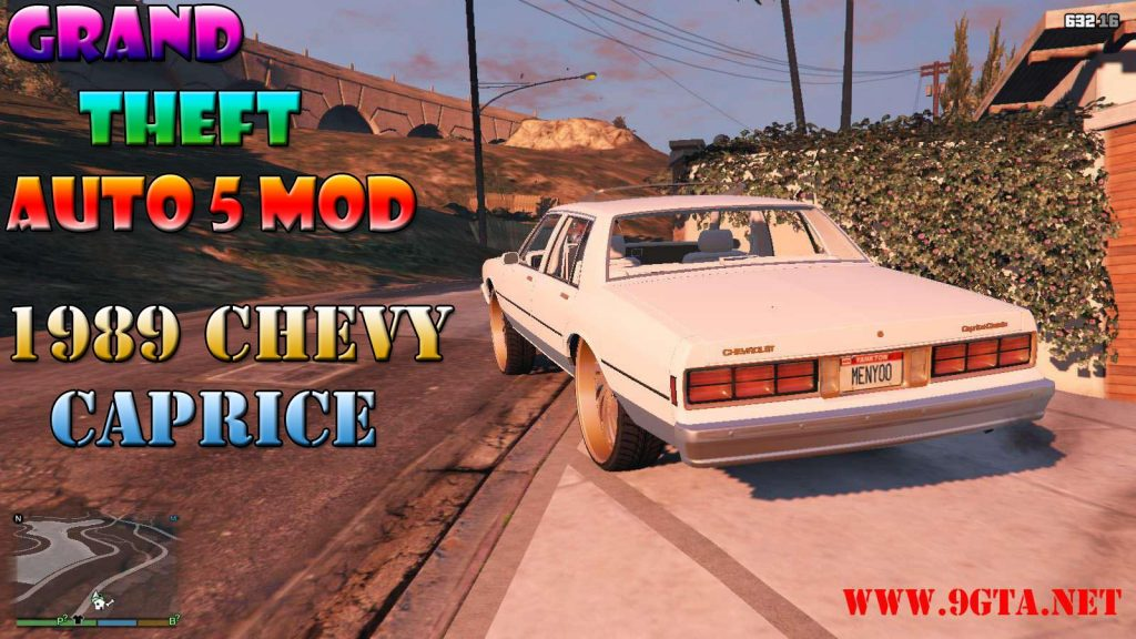 1989 Chevy Caprice Mod For GTA5