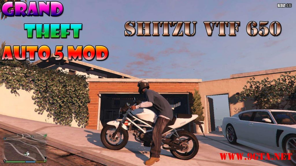 2018 Shitzu VTF650 Motorcycle Mod For GTA5