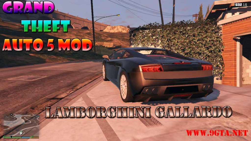 Lamborghini Gallardo v2.0 Mod For GTA5