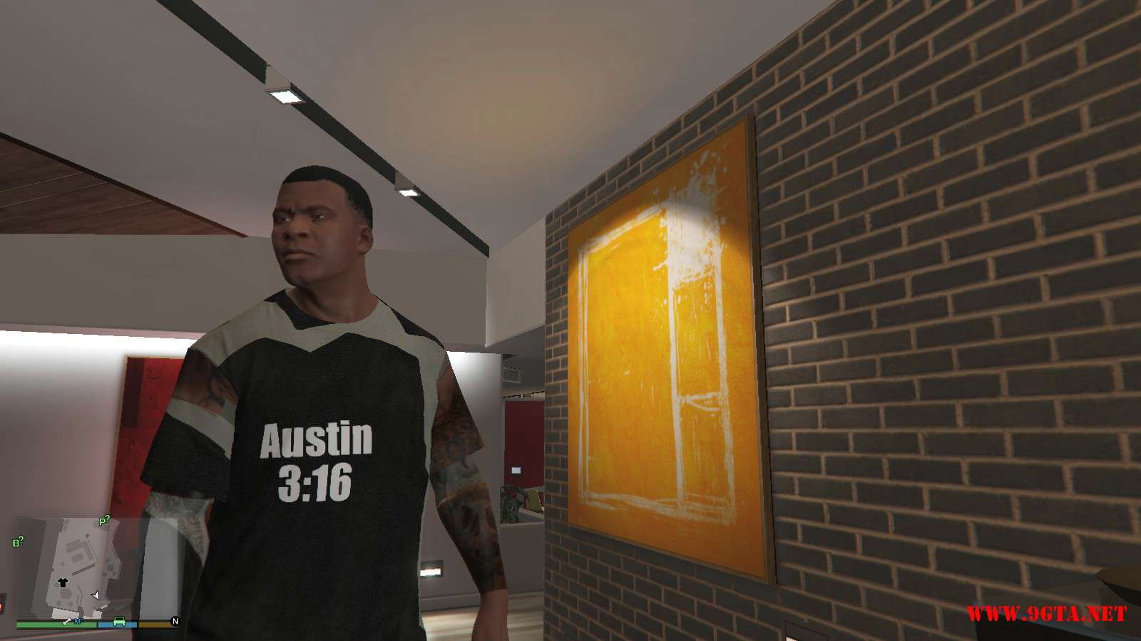 WWE Stone Cold Steve Austin Shirt GTA5 Mods (1)