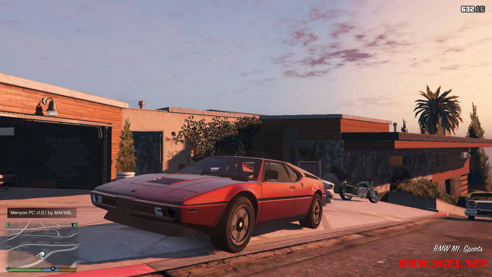 1981 BMW M1 v2.0 Mod For GTA5 (1)