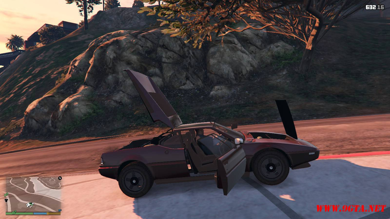 1981 BMW M1 v2.0 Mod For GTA5 (11)