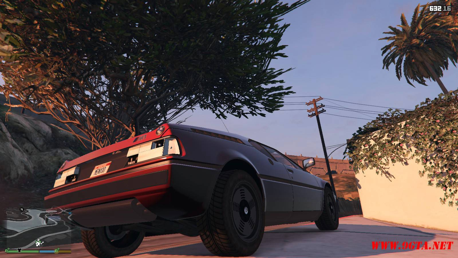 1981 BMW M1 v2.0 Mod For GTA5 (13)