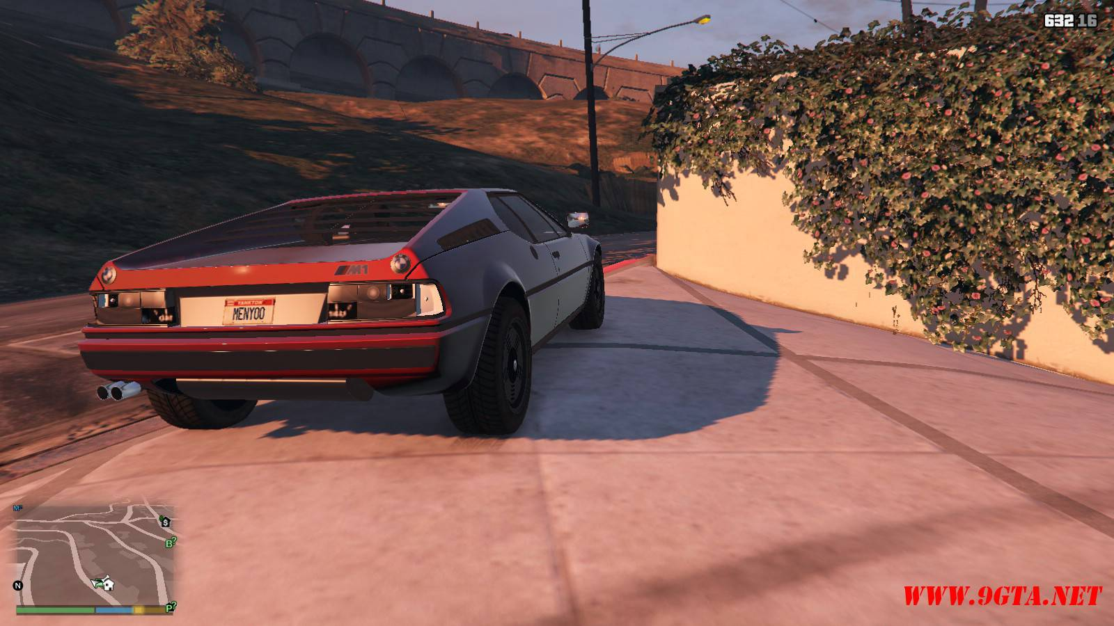 1981 BMW M1 v2.0 Mod For GTA5 (17)