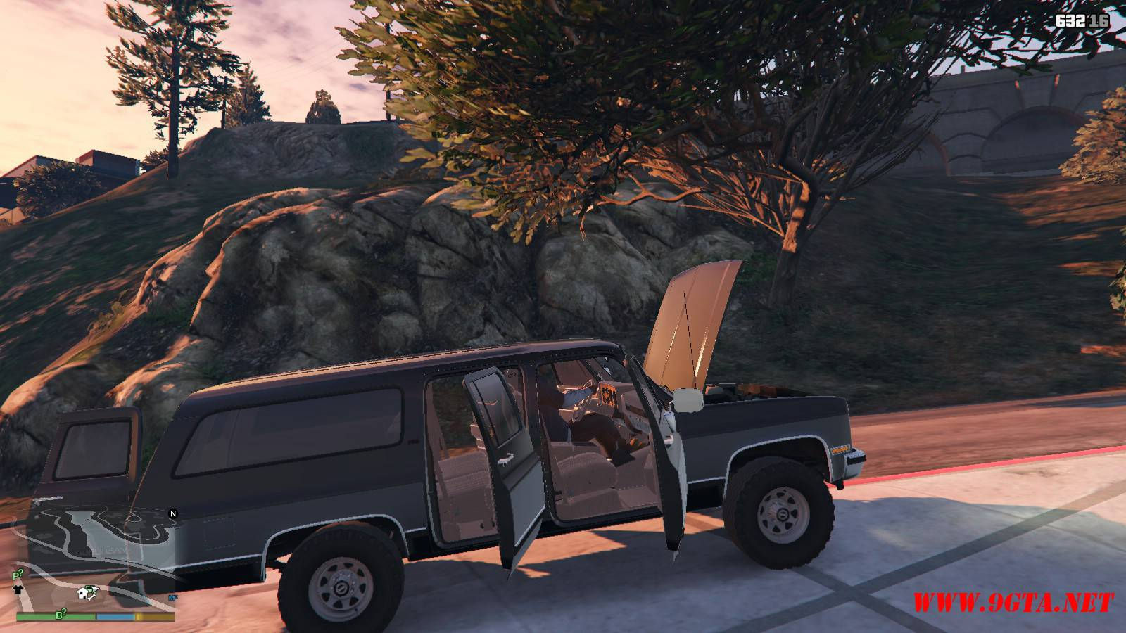 1989 GMC Suburban Mod For GTA 5 (15)