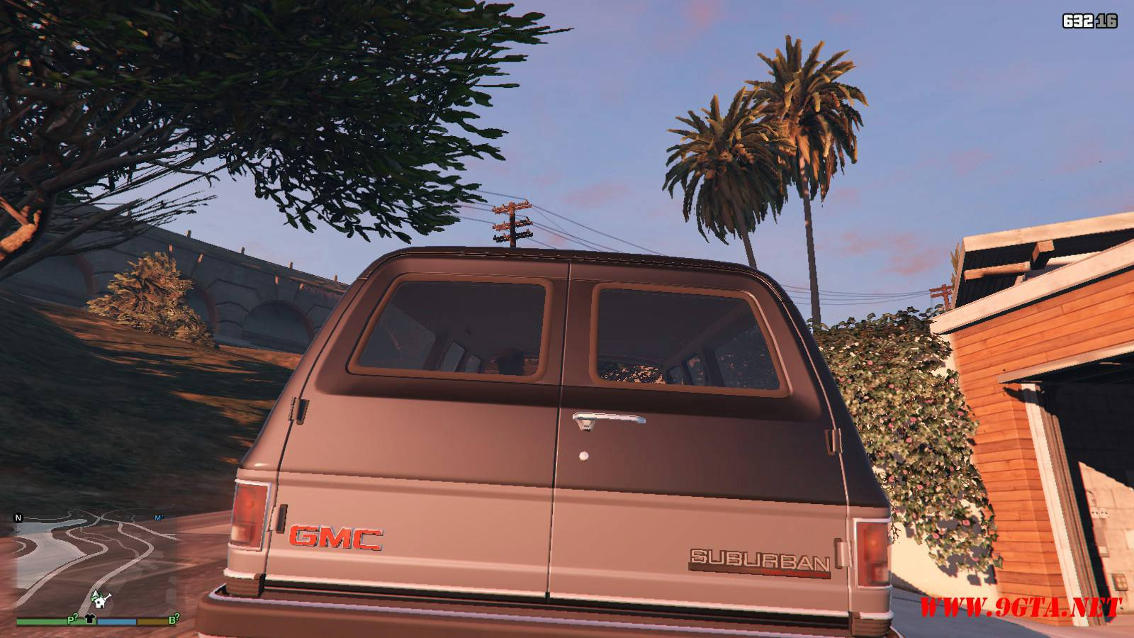 1989 GMC Suburban Mod For GTA 5 (3)
