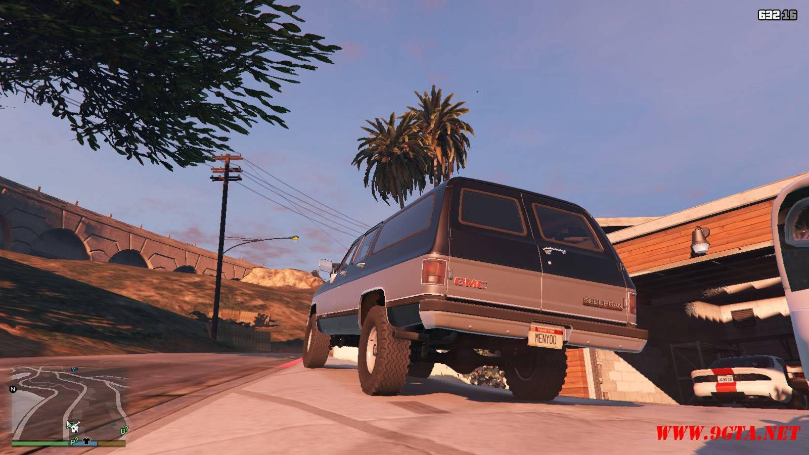 1989 GMC Suburban Mod For GTA 5 (7)