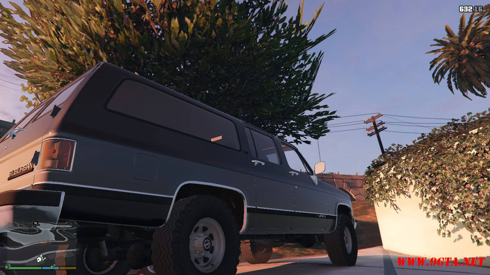 1989 GMC Suburban Mod For GTA 5 (8)