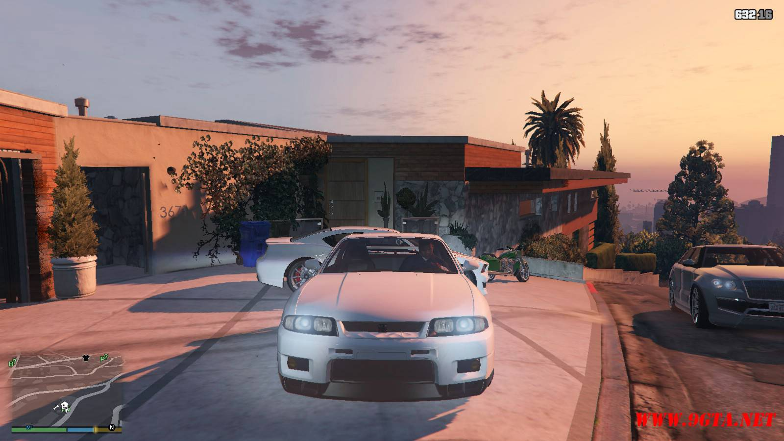 1996 Nissan Skyline GT-R R33 Mod For GTA5 (10)