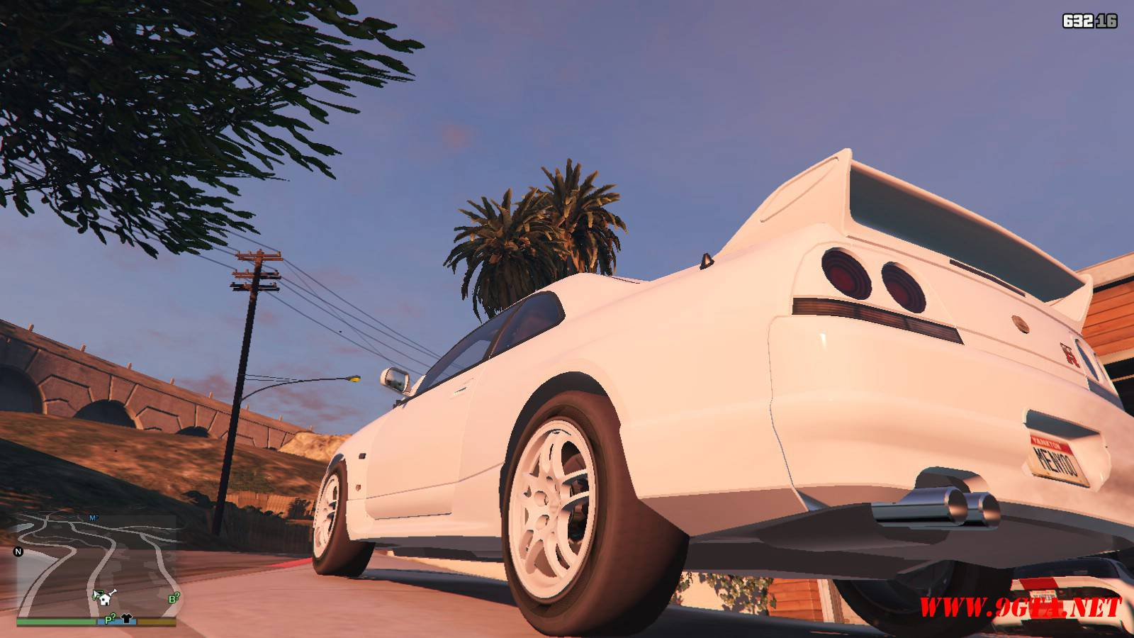 1996 Nissan Skyline GT-R R33 Mod For GTA5 (3)