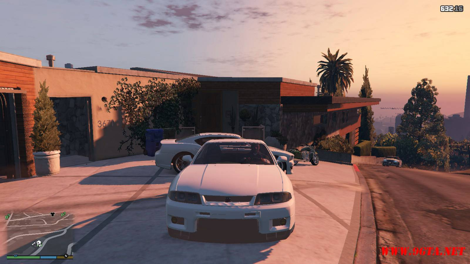 1996 Nissan Skyline GT-R R33 Mod For GTA5 (9)