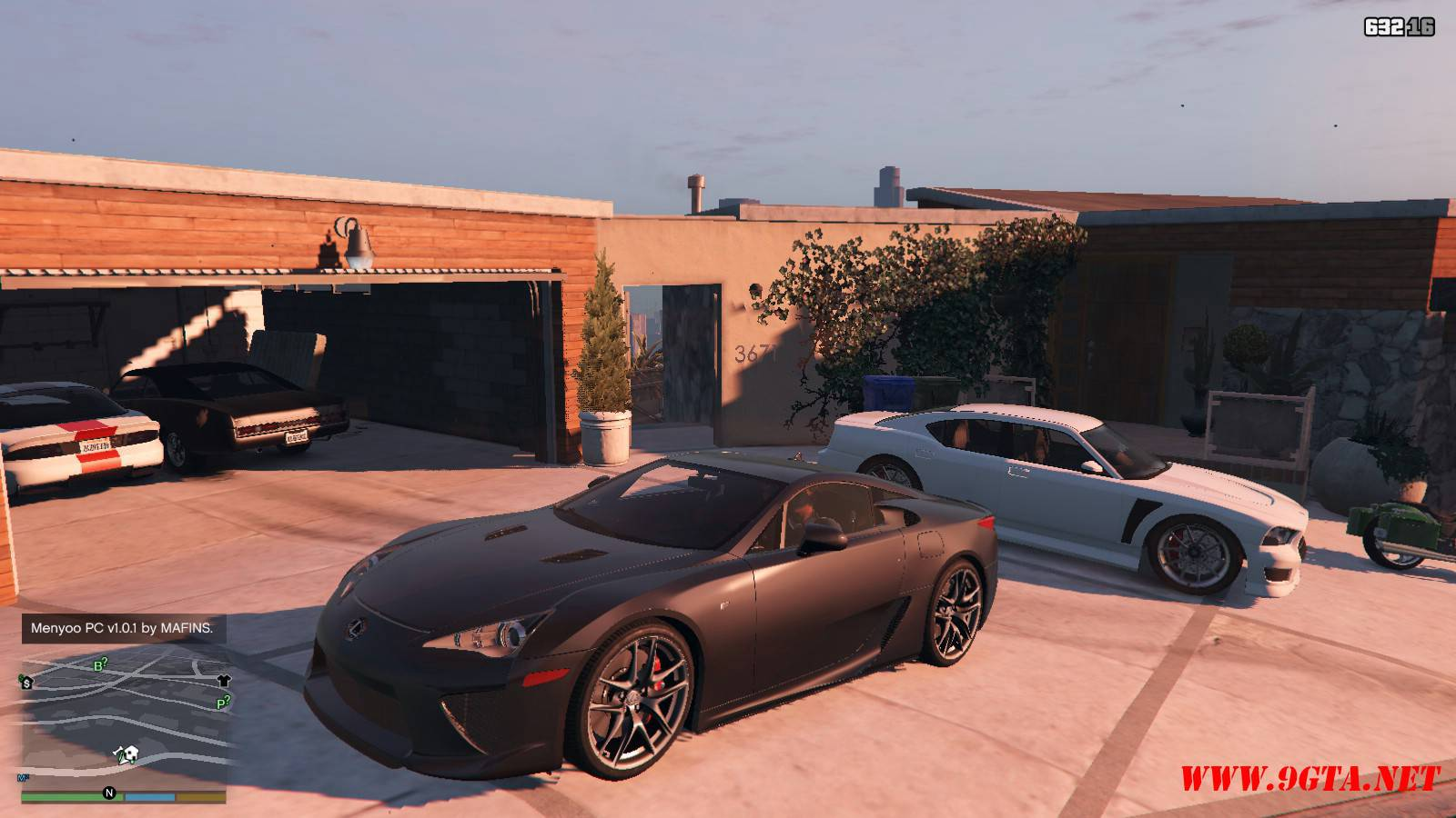 2010 Lexus LFA v2.0 Mod For GTA5 (1)