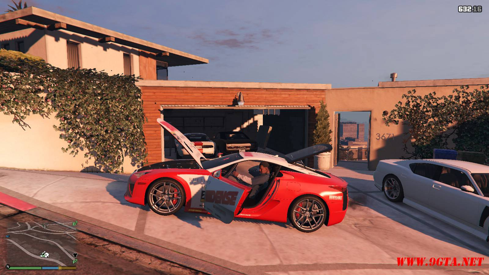 2010 Lexus LFA v2.0 Mod For GTA5 (13)