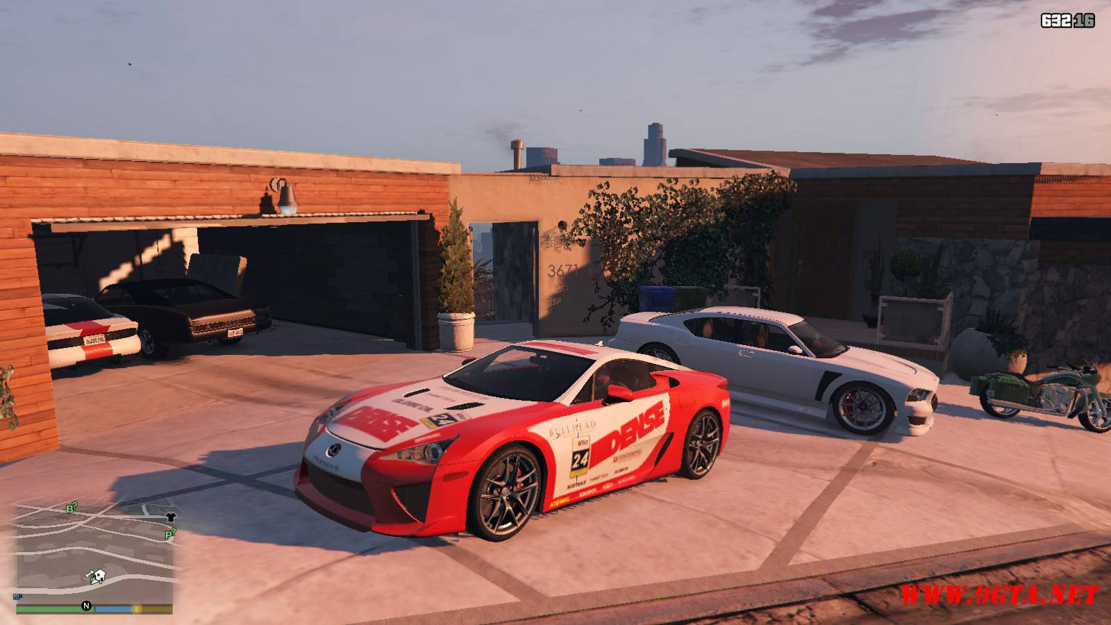 2010 Lexus LFA v2.0 Mod For GTA5 (17)