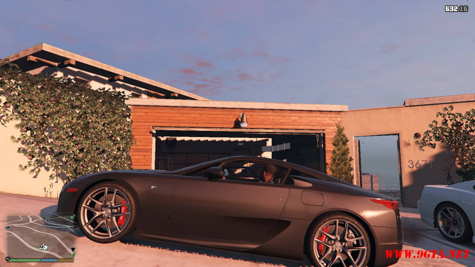 2010 Lexus LFA v2.0 Mod For GTA5 (2)