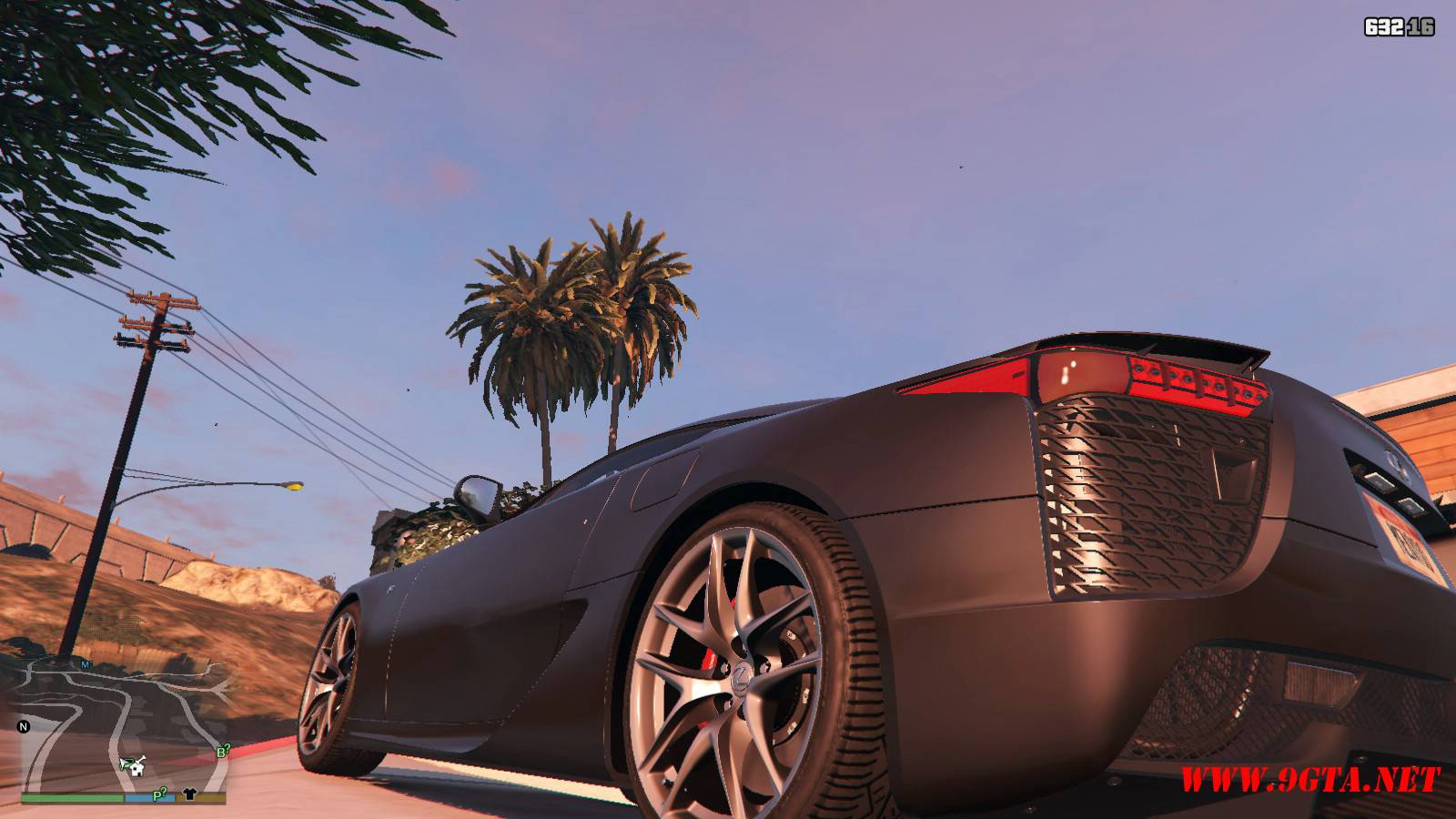 2010 Lexus LFA v2.0 Mod For GTA5 (3)