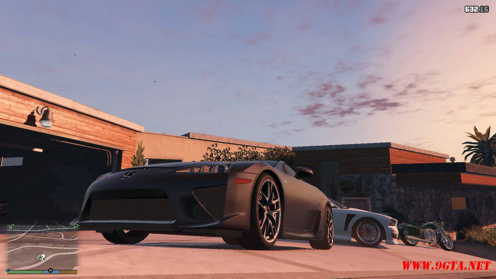 2010 Lexus LFA v2.0 Mod For GTA5 (4)