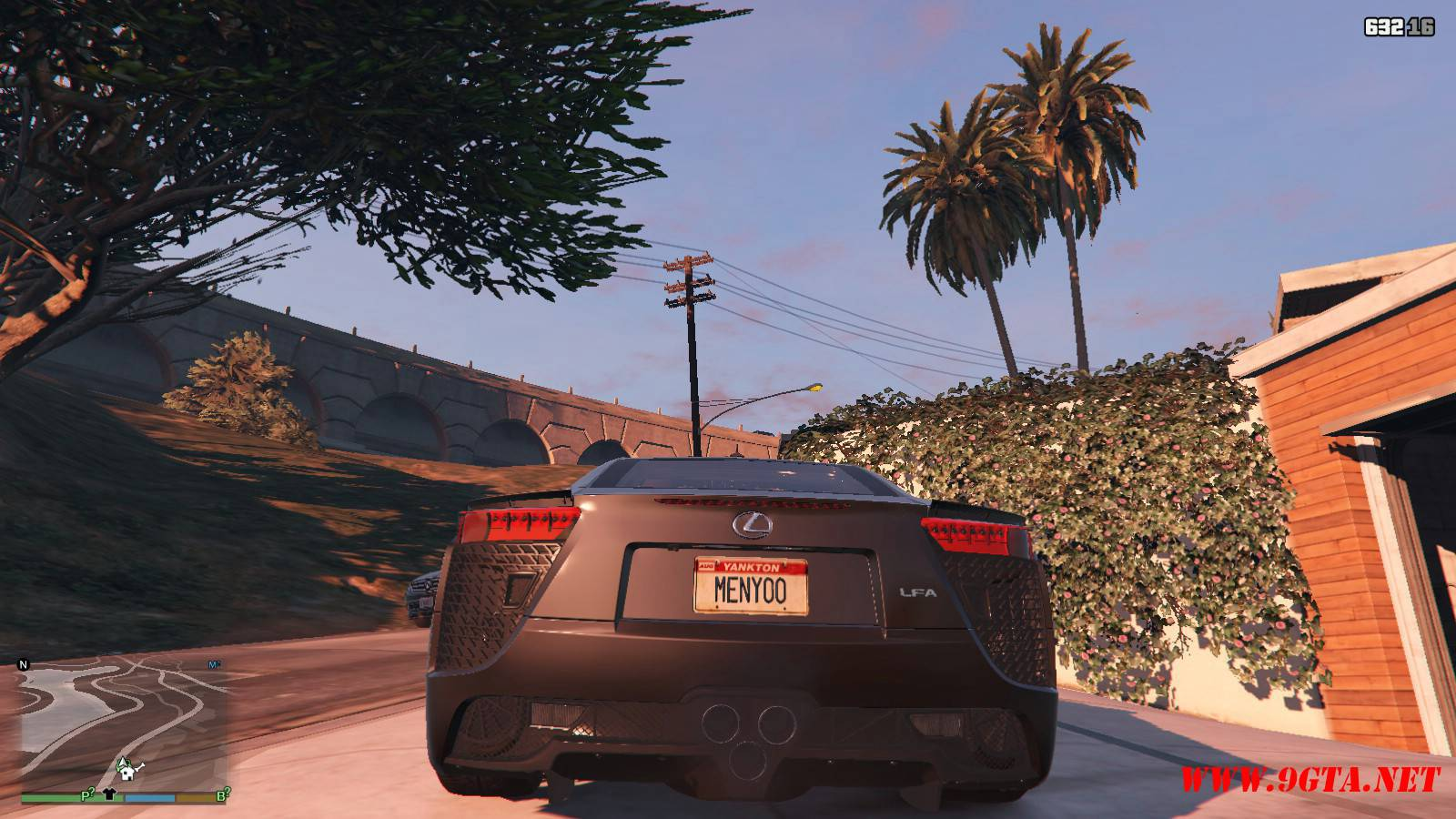 2010 Lexus LFA v2.0 Mod For GTA5 (5)