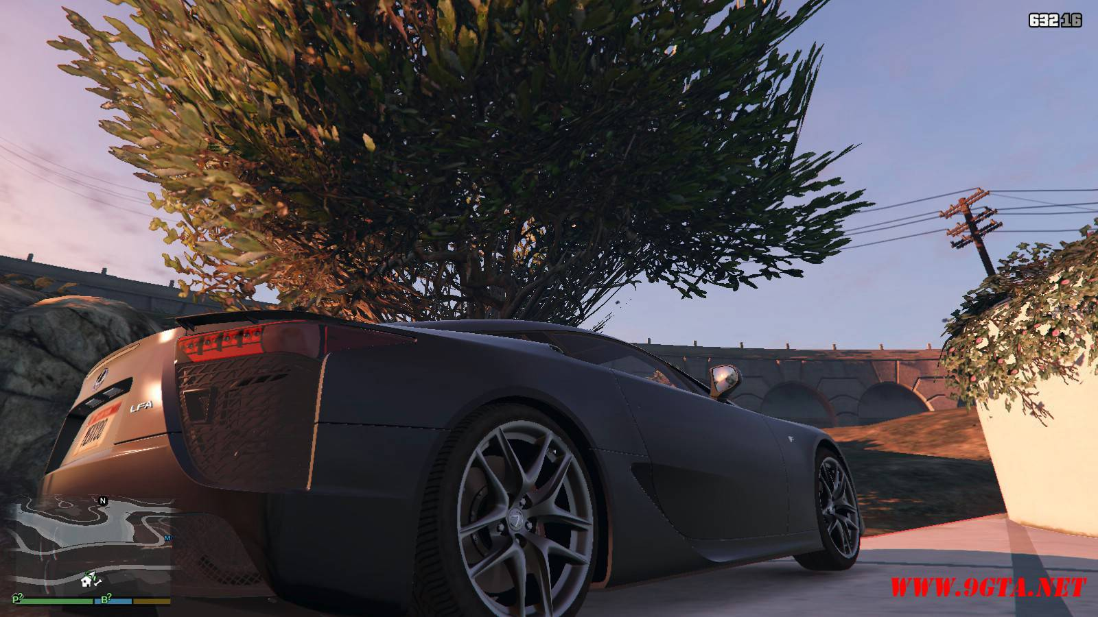 2010 Lexus LFA v2.0 Mod For GTA5 (6)