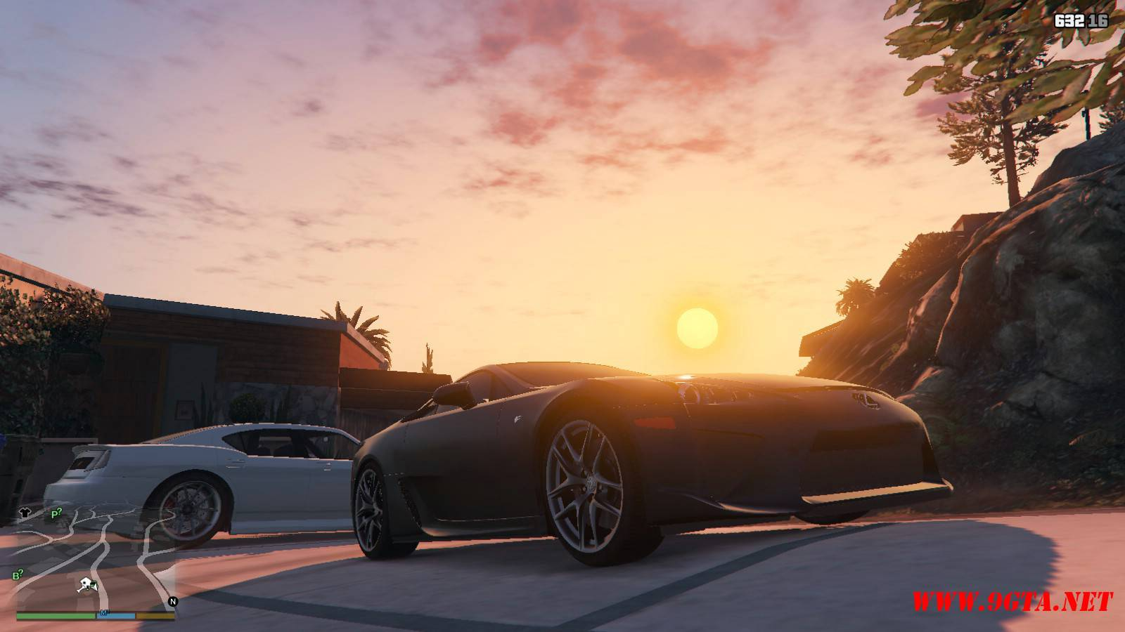 2010 Lexus LFA v2.0 Mod For GTA5 (7)