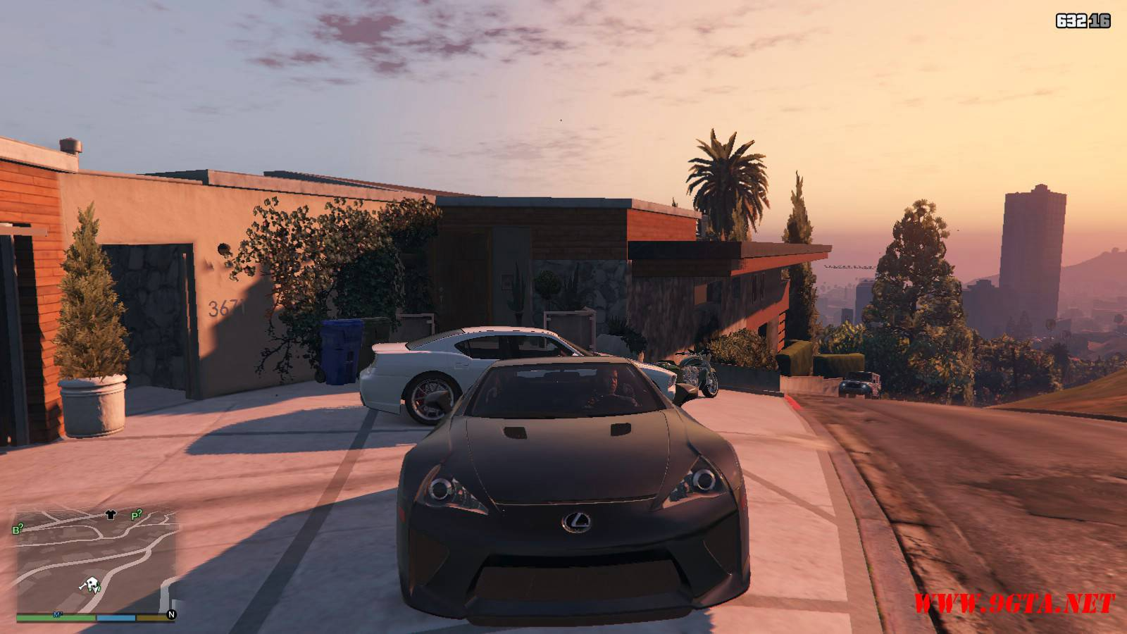 2010 Lexus LFA v2.0 Mod For GTA5 (8)
