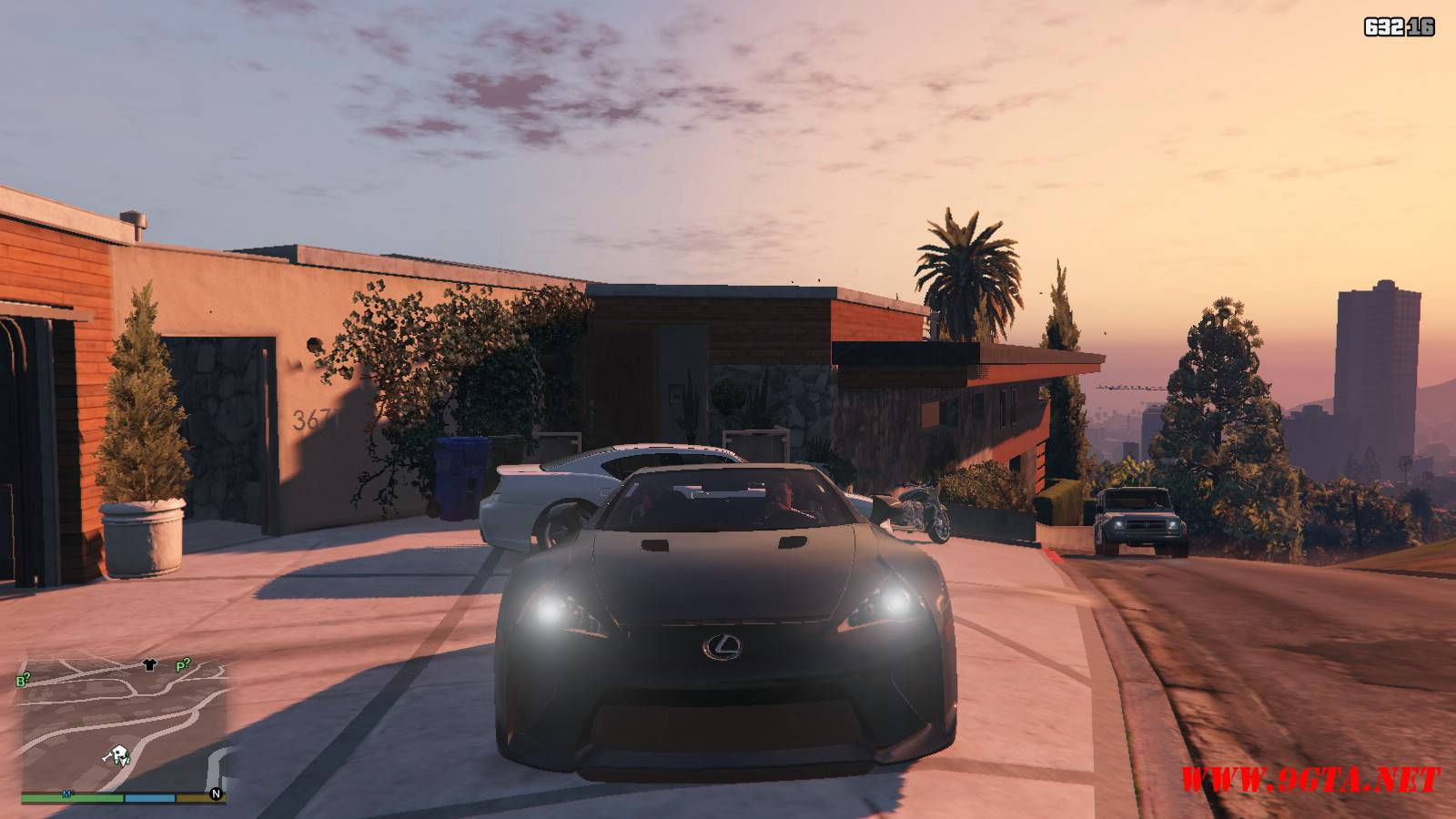 2010 Lexus LFA v2.0 Mod For GTA5 (9)