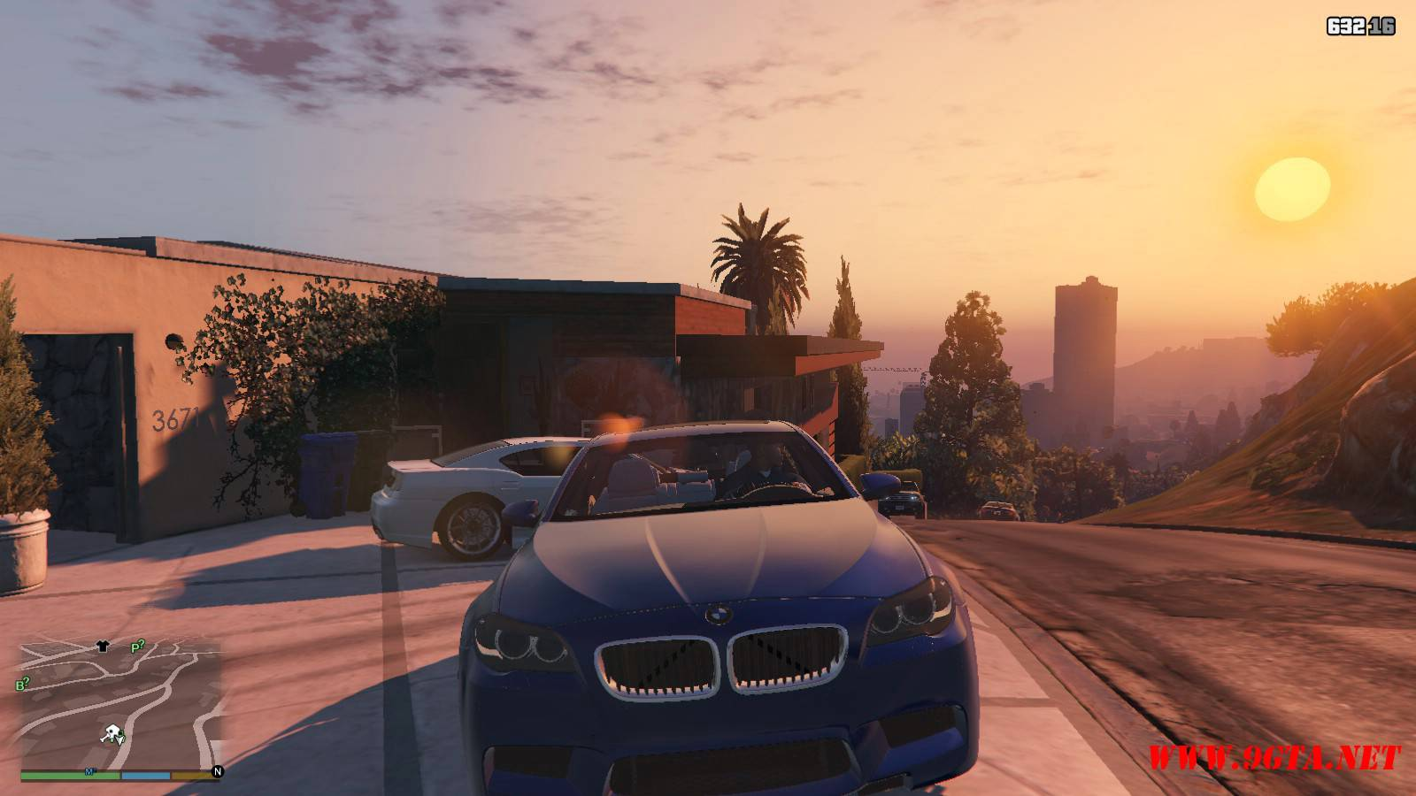 2012 BMW M5 F10 Mod For GTA5 (10)