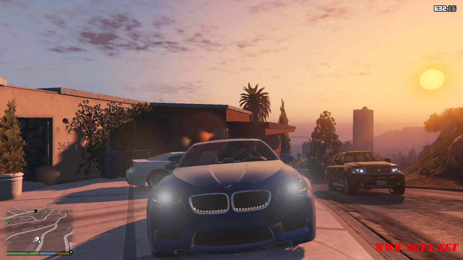 2012 BMW M5 F10 Mod For GTA5 (11)