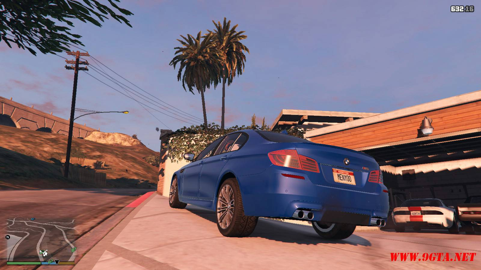 2012 BMW M5 F10 Mod For GTA5 (3)