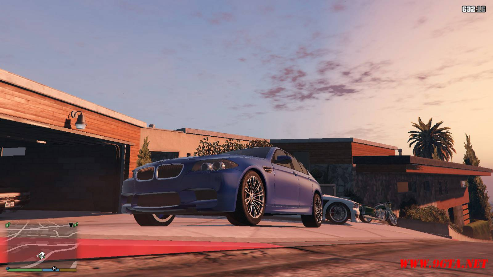 2012 BMW M5 F10 Mod For GTA5 (4)