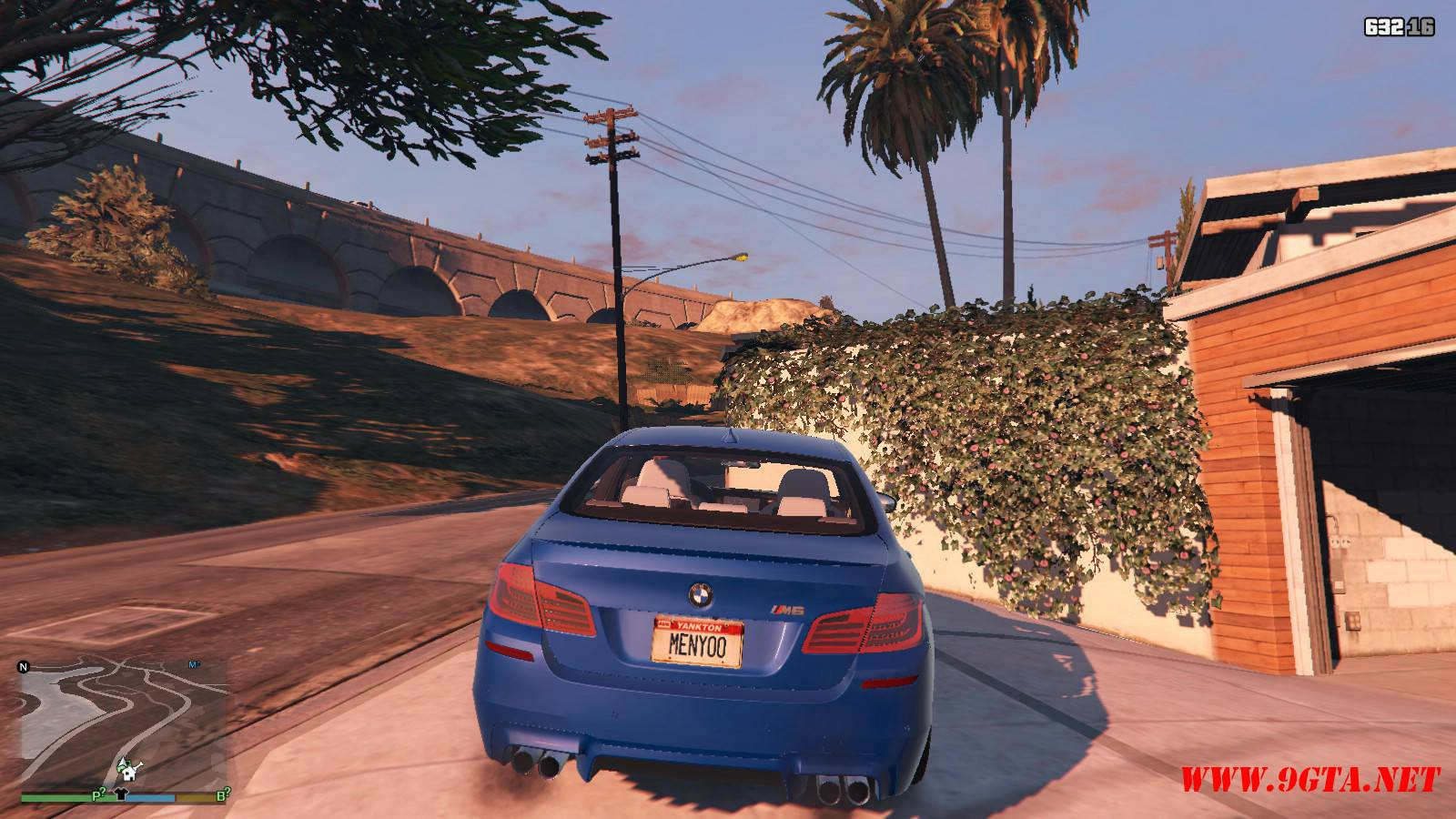 2012 BMW M5 F10 Mod For GTA5 (5)