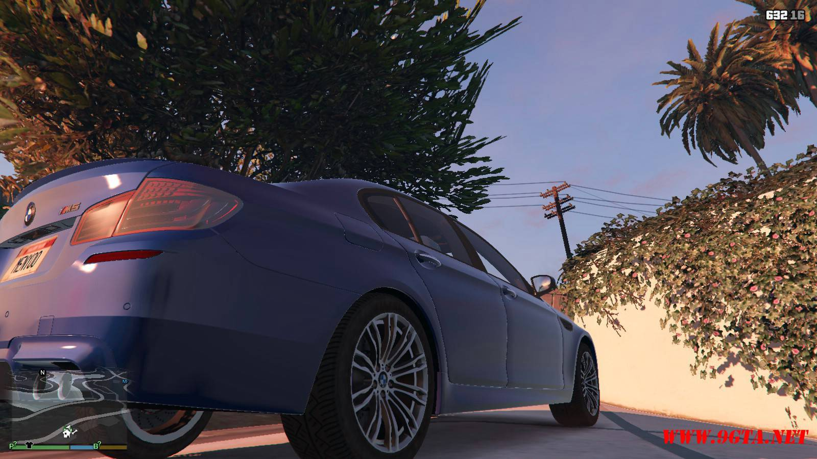 2012 BMW M5 F10 Mod For GTA5 (6)